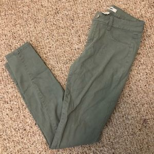 Charlotte Russe Olive Green Pants